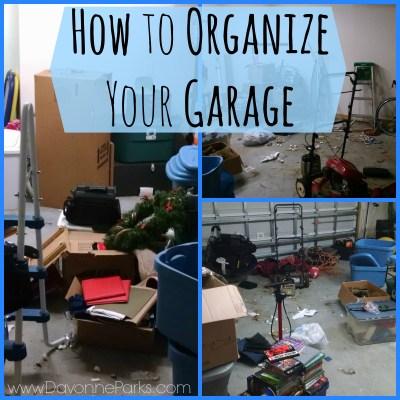 Organizing A Reader's Garage