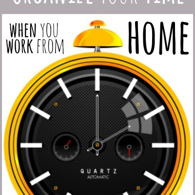 How to Organize Your Time as a WAHM