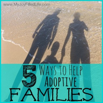 5 Simple Ways We Can Help Adoptive Families
