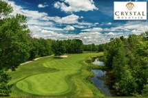 The winning bidder can choose a two nights' accommodation for two adults in a hotel room, breakfast for two and gratuity per stay, two all day/evening lift tickets OR two 18-hole rounds of golf with cart on the Betsie Valley or Mountain Ridge course, including use of Practice Center and all taxes/fees.
