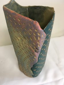 Ceramic vase by Brad Patterson