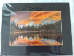 """""""Mt Hood from Mirror Lake"""" by Tom Sanders"""