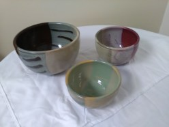 Bowl set by David Nelson