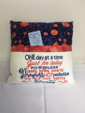 Pocket pillow by Gail Grady