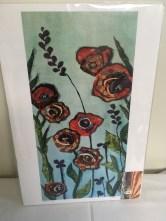 Flower print by Sharron Tesser