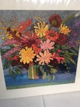 Flower painting by Kim Rhoney