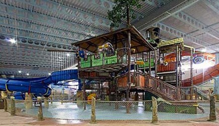 Daily waterpark admission is included for all hotel guests