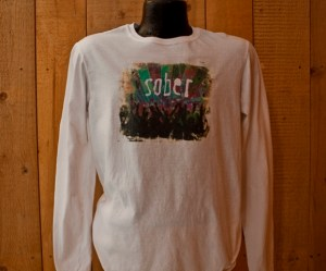 Sober (Crowd) Long Sleeve T-Shirt