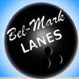 $100 gift card and bowling pin from Belmark Lanes