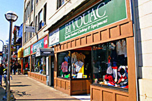 $50 gift card to Bivouac