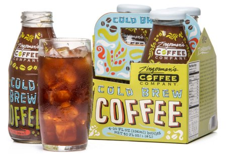 4-pack of Zingerman's Cold Brew Coffee