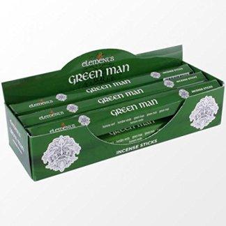Elements Green Man Incense Sticks. 1 pack of 20 sticks.