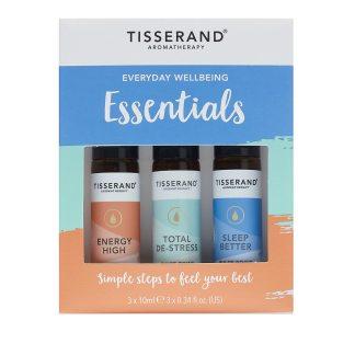 Tisserand Everyday Wellbeing Essentials Roller Ball Kit