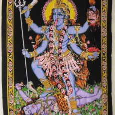 Indian Wall Art Hanging - Kali