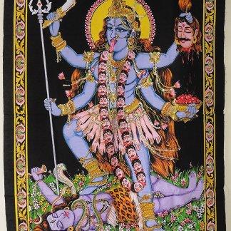 Indian Wall Art Hanging - Kali