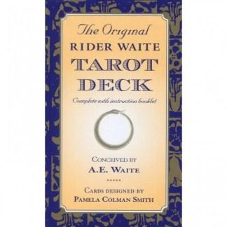 The Original Rider Waite Tarot Deck Cards – 10 Jun 1999 by A.E. Waite (Author)