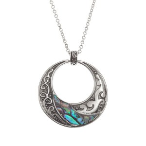 Tide Jewellery Paua Shell Doughnut Necklace