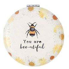 Compact Mirror BEE You Are Bee-utiful Pocket Mirror