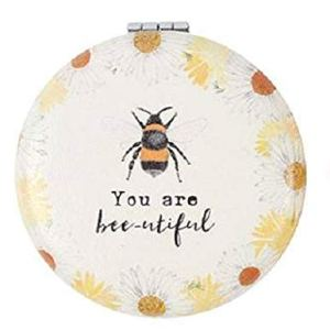 Compact Mirror BEE You Are Bee-utiful Pocket Mirror