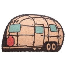 Coir Door Mat - Streamline Caravan Shape