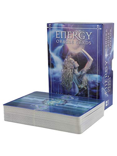 Energy Oracle Cards: A 53-Card Deck and Guidebook by Taylor, Sandra Anne