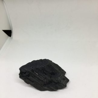Natural Black Tourmaline Crystal Rough Rock Specimen