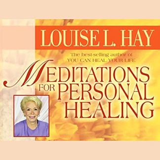 Meditations for Personal Healing Audio CD – Audiobook, 1 Jun 2005 by Louise Hay (Author, Reader)