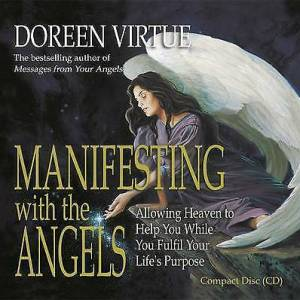 Manifesting with the Angels: Allowing Heaven t... by Virtue PhD, Doreen CD-Audio