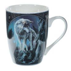 Wolf Guidance Lisa Parker Designed Porcelain Mug