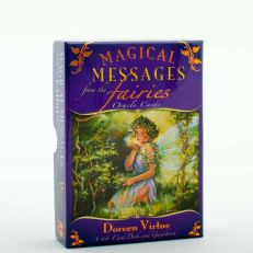 Magical Messages From The Fairies Oracle Cards Card Deck & Guidebook