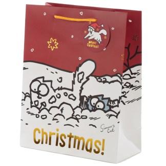 Simon's Cat Christmas Large Gift Bag