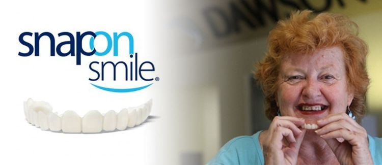 Looking for Snap On Smile? Call Dawson Dental