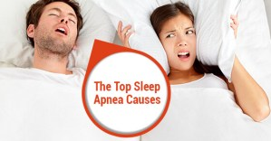 The Top Sleep Apnea Causes