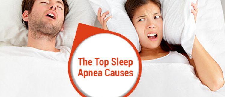 6 Common Causes Of Sleep Apnea