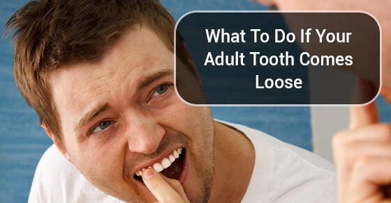 What To Do If Your Adult Tooth Comes Loose