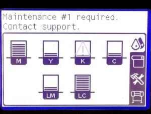 HP Designjet L25500 Service Maintenance Kit 1