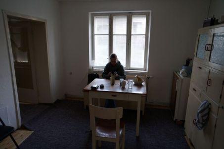 Küche und neue Kommandozentrale nach dem ausmalen