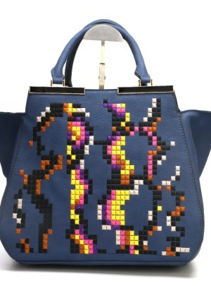 Beautiful Blue Ladies Handbag
