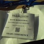 My NYT Trade Show Badge