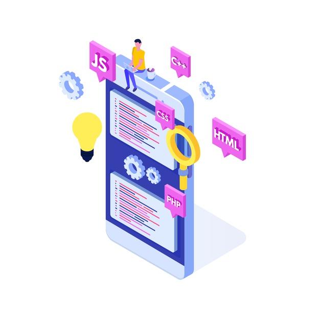 programming-software-app-development-isometric-concept-big-data-processing