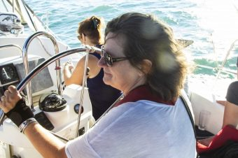 Sailing with Sandra! Ashbridges Bay