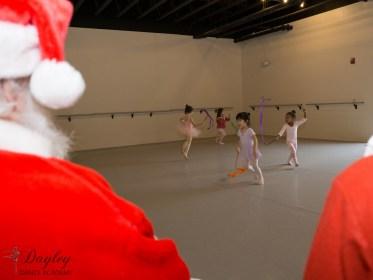 Performing for Santa