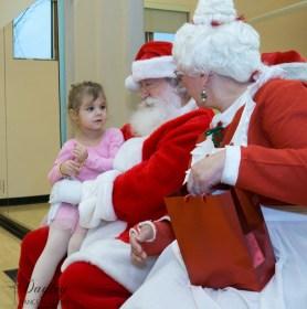 Talking to Santa