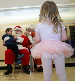 Tights, tutu's & Santa... What could be better?