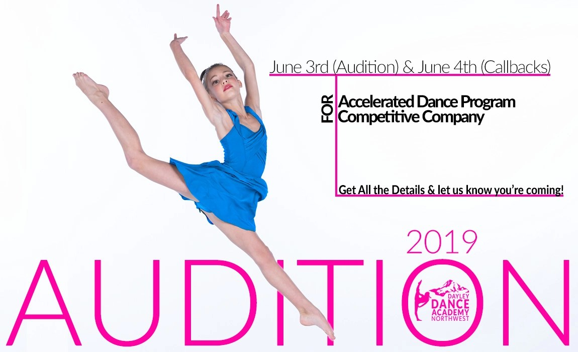 Dance Audition - For Accelerated & Company Dancers