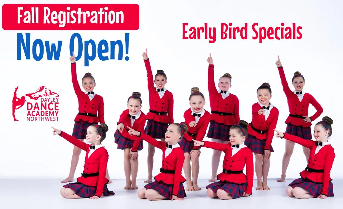 Fall Dance Registration is Open - Get your Early Bird Specials!