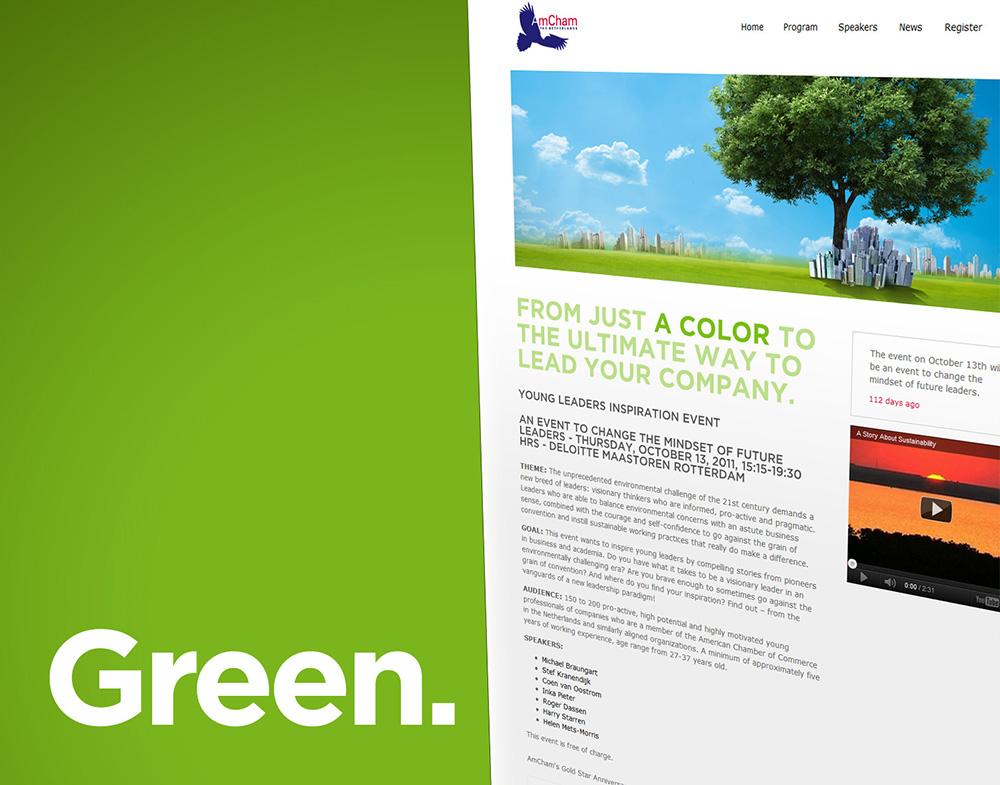 AmCham homepagina green event