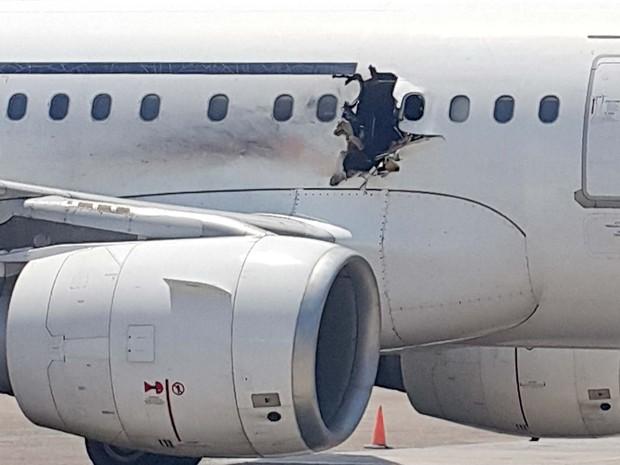 Resto de explosivo é achado em avião na Somália, diz diretor de aérea