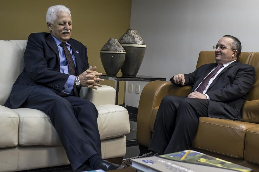 Pacto por Mato Grosso : Governador se reúne com presidente do Tribunal de Justiça