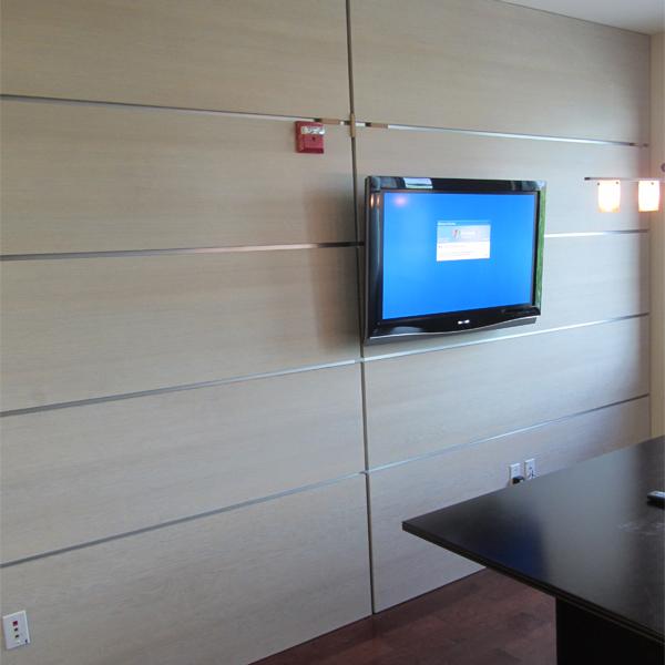 DAYORIS Doors Modern Office Wall Paneling Miami Fort